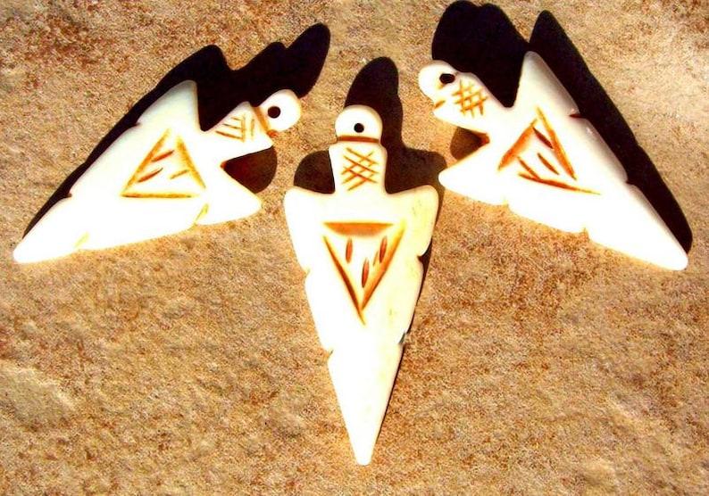 arrowhead necklace pendant native american tribal southwestern zen Arrowhead pendant handcarved elk bone arrowhead pendant