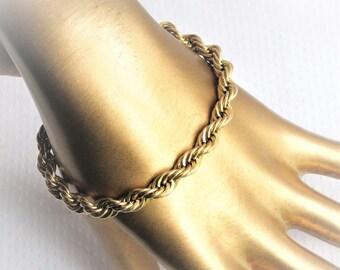 Handmade Chain Bracelet from the 60/'s