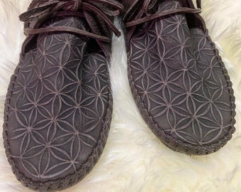 Flower of Life Toe Etching (Art Add-On!)