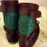 Seed of Life Shin High Indie Moccasin