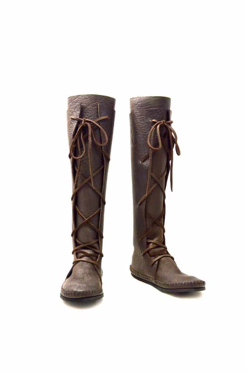 a9212597f74 Plain Knee High Boot   Chocolate brown