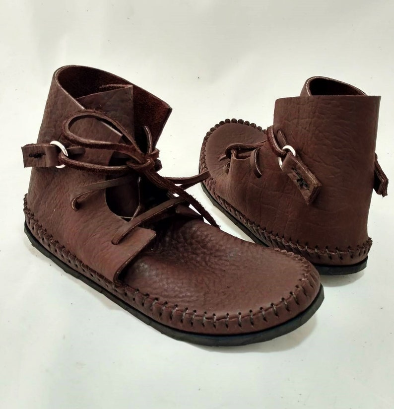 Chukka Boot Moccasin Chocolate Brown image 0