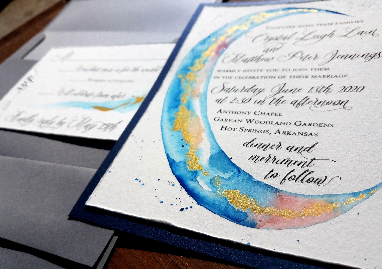 50: Blue Moon Wedding Invitations At Websimilar.org