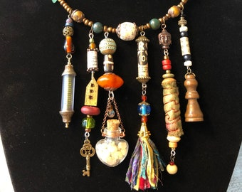 All The Treasures: Reliquary Necklace