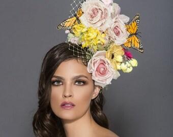 Assorted Silk bouquet headband 45bd73de436