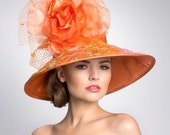 Items similar to Couture Derby Hat-- Lampshade hat on Etsy