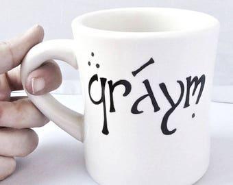 Elvish mug | Etsy