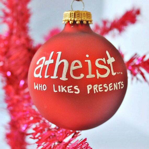 Lustige Weihnachten Ornament Wissenschaft Geschenk Atheist Etsy