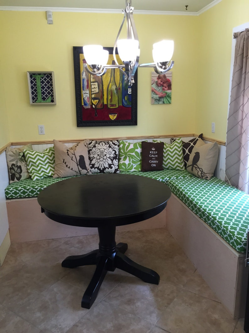 Custom Cushion Sewn Banquette Seat Bench Cushion With Etsy
