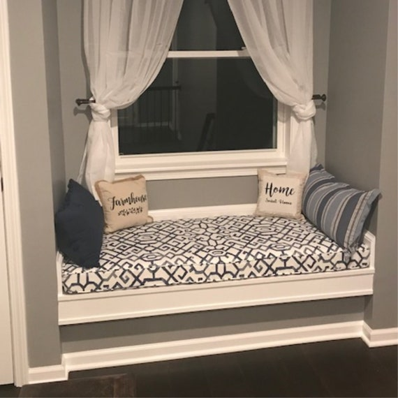 Prime Custom Window Seat Cushion Mudroom Cushion Bench Cushion Nook Cushion Bench Seat Cushion Kitchen Banquette Cushion Chair Pad Pabps2019 Chair Design Images Pabps2019Com