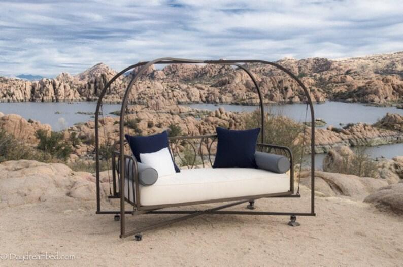 Twin Outdoor Cushion Mattress Sunbrella Outdoor Seat Cushion Etsy