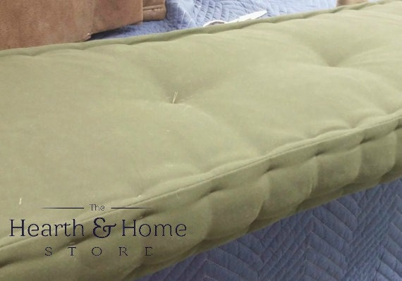 Awesome Custom Sewn Hand Tufted Window Seat Cushion French Mattress Tufting Floor Cushion Bench Seat Chair Pad Farmhouse Cushion Ocoug Best Dining Table And Chair Ideas Images Ocougorg