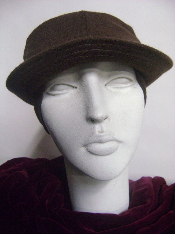 Happy Cappers Brown Wool Ear Flap Hat