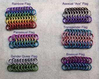 LGBTQ+ Pride flag bracelets