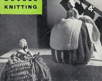 Instant download Vintage Knitted Tea Cosy Patterns , Instant download Knitted Pattern Tea Cosies , Novelty Tea Cosy Knitting Pattern