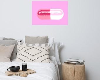 Chill Pill Pink