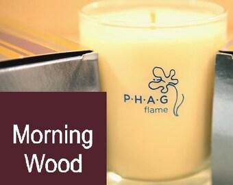 PHAG flame Premium Soy Candle- Morning Wood