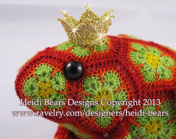 Tomate der Froschkönig afrikanische Blume häkeln Muster | Etsy