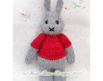 Little Pip-Sized Bunny knitting pattern