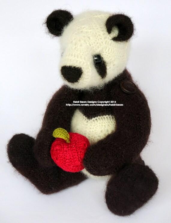 Ling Ling De Panda Afrikaanse Bloem Haken Patroon Etsy