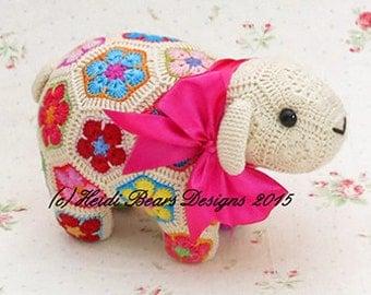 Shoop the African Flower Sheep