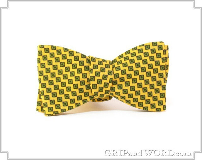The Pepperland  Yellow Bow Tie image 0