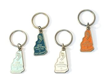 personalized keychain Ski tramway keychain monogram customized keychain ski tramway charm skiing keychain initial keychain