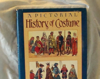 Sale A pictorial History of Costume Costume Book