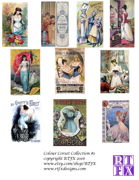 19bdc9131a3 Corset Collection blank Cards Handmade 10 cards Any Occasion