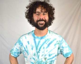 Vintage 80s Basic Tie Dye Tee Shirt