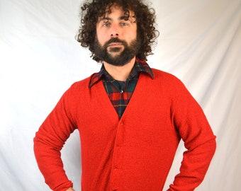 Vintage Jantzen Grandpa Cardigan Sweater