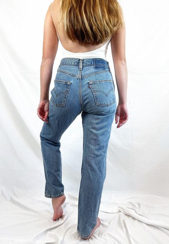Vintage 90s 1990s LEVIS Denim Jeans - 29 X 30 - image 1