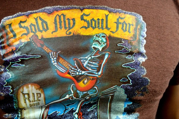 Band Silver Shirt Bob 1980s Seger 80s Vintage 1988 RARE Tee Skeleton Authentic and Bullet the XP6FnznT