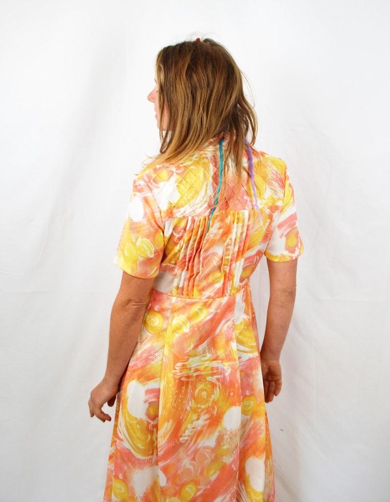 Acuna Espana Dannie Z Vintage 1970s 70s Maxi Dress