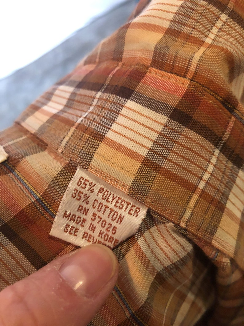 Pardners Vintage Plaid Western Pearl Snap Shirt