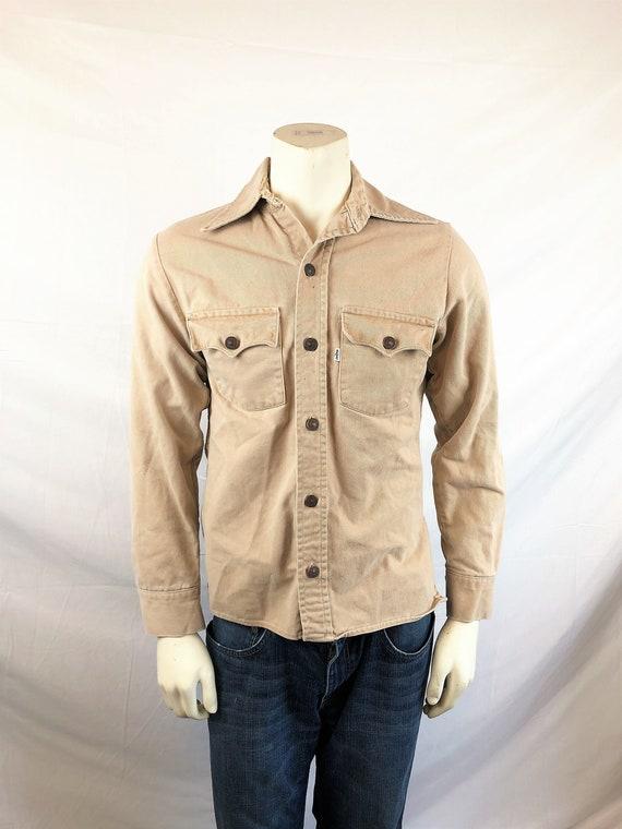 Vintage Khaki LEVIS Big E Denim Jacket