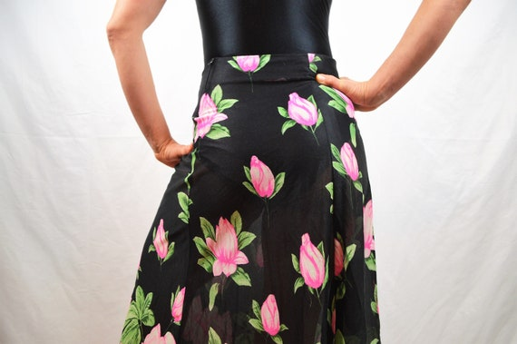 Vintage Floral Skirt by Climax - by David Howard