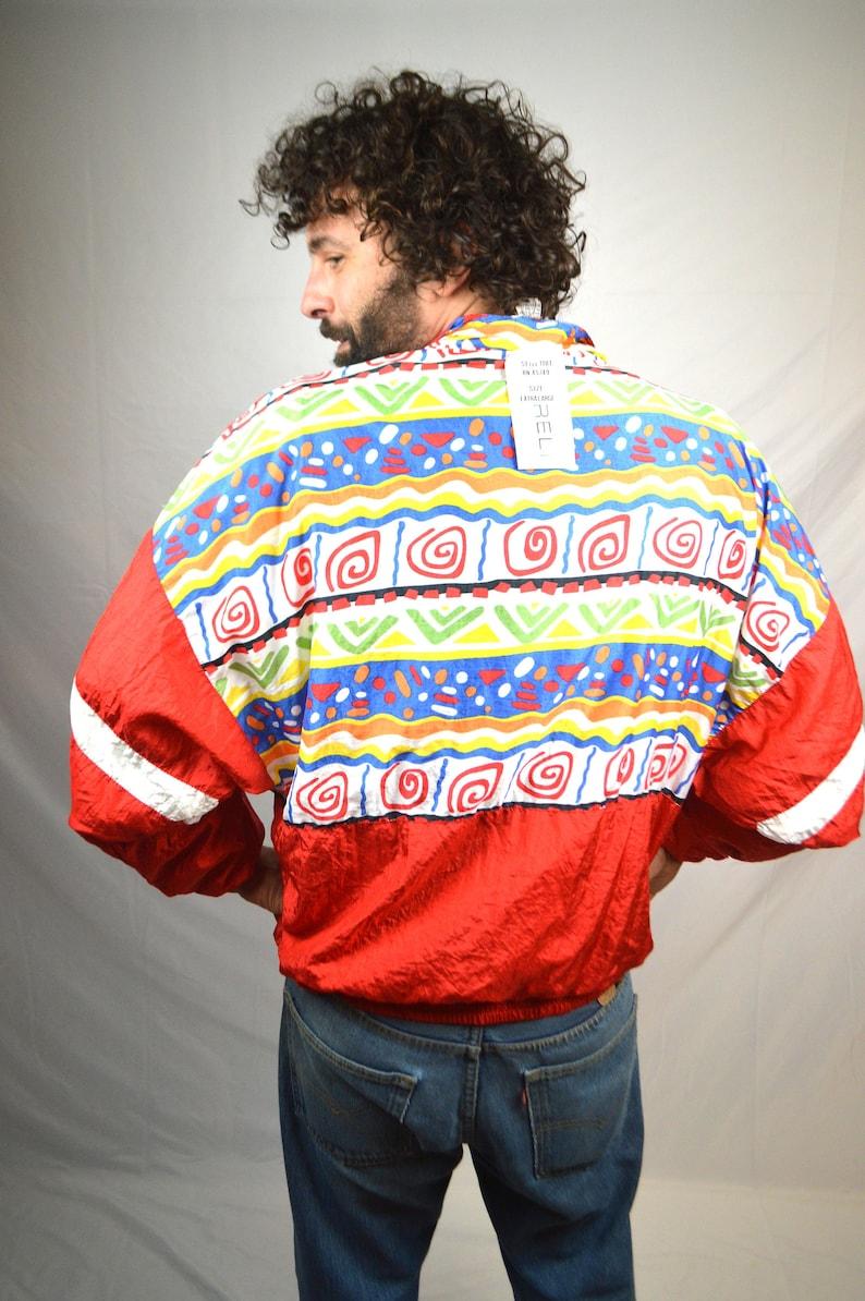 Vintage Mureli Rainbow 80s 90s Windbreaker Rainbow Jacket