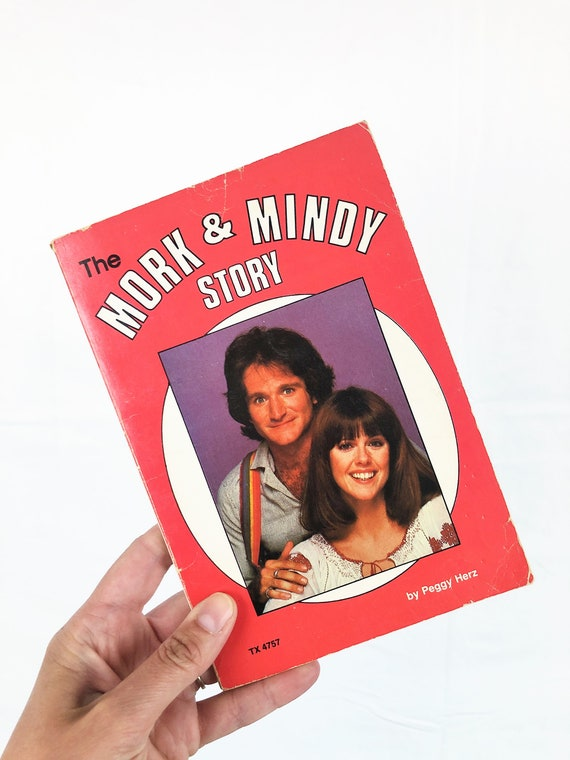 Vintage 1970s 70s 1979 The Mork and Mindy Story Pa