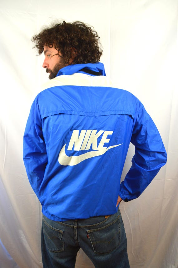 save up to 80% crazy price clearance prices Vintage 80er Jahre NIKE Jacke Windbreaker Pullover - blau-Tag