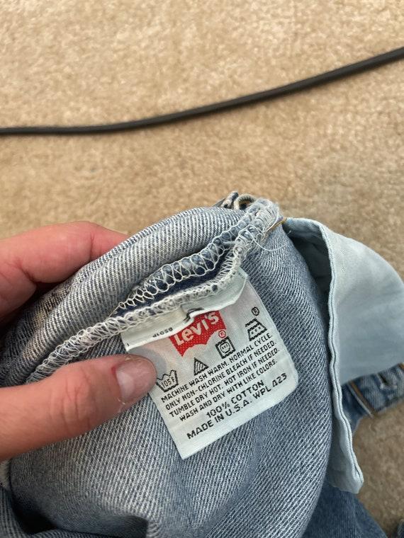 Vintage 90s 1990s LEVIS Denim Jeans - 29 X 30 - image 4