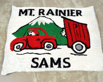 Large Vintage Mount Rainier Patch