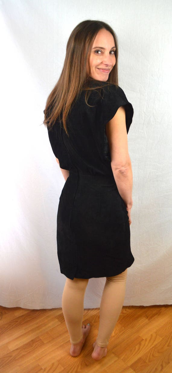 Vintage 80s Suede Leather Dress By Brass Plum Nordstrom Etsy