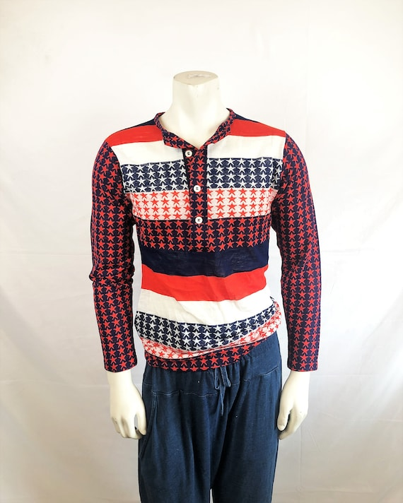 Vintage 1970s USA Red White Blue Liberty Independe
