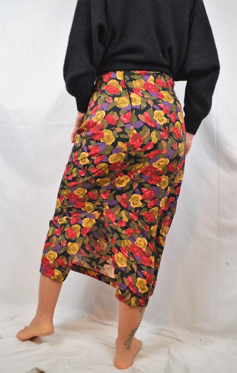 BIA Vintage 90s Floral Maxi Skirt