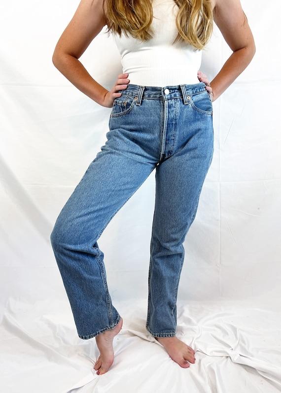 Vintage 90s 1990s LEVIS Denim Jeans - 29 X 30 - image 5