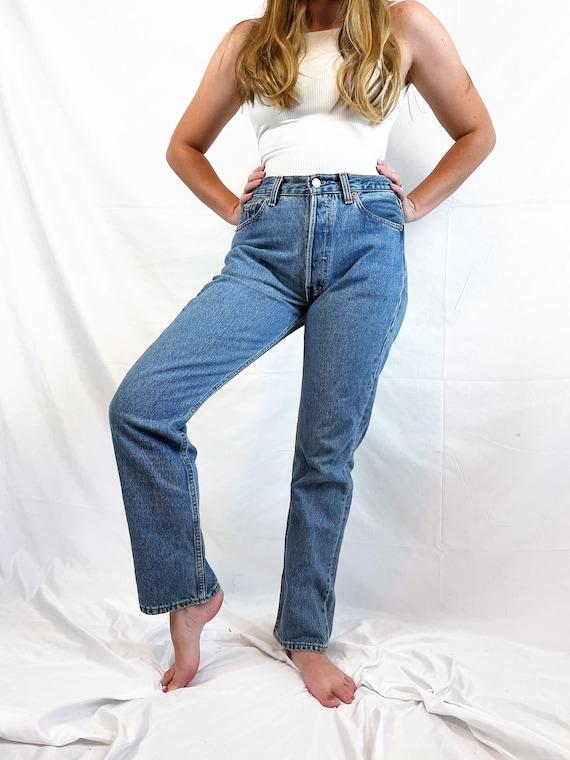 Vintage 90s 1990s LEVIS Denim Jeans - 29 X 30 - image 2