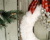 SPECIAL ORDER ONLY Christmas Wreath, Mrs. Claus Wreath