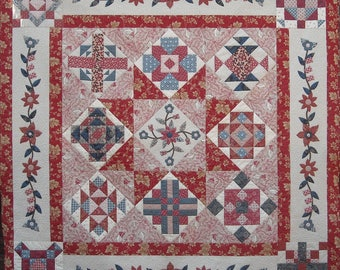 French Samplers Quilt Pattern Booklet