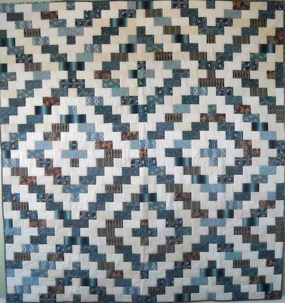 Charleston Pavement Patchwork Quilt Pattern, print version